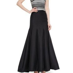 ANN TAYLOR   Long Black Formal Trumpet Dress Skirt